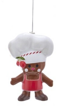 GINGER-CHEF W/RED APRON