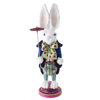 WHITE RABBIT NUTCRACKER