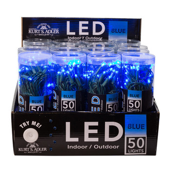 BLUE LED / GREEN WIRE