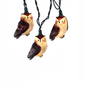 BROWN OWL LIGHT SET - UL4235