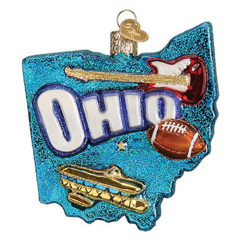 State of Ohio by Old World Christmas 36182