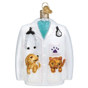 Veterinarian's Coat by Old World Christmas 36282