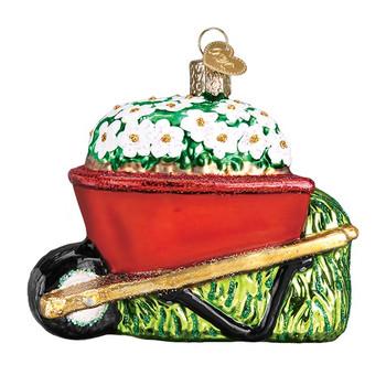 Wheelbarrow by Old World Christmas 36236