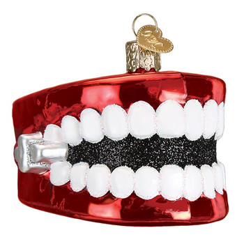 Wind Up Teeth by Old World Christmas 44107
