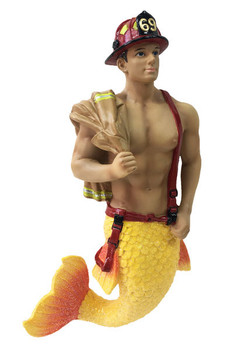 Back Draft Firefighter Merman by December Diamonds