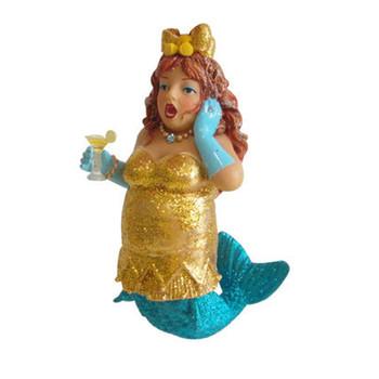 Lemon Drop mermaid ornament by December Diamonds 90852