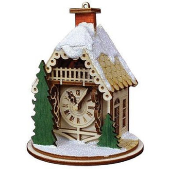 Alpine Time Clock Shoppe by Old World Christmas 80022