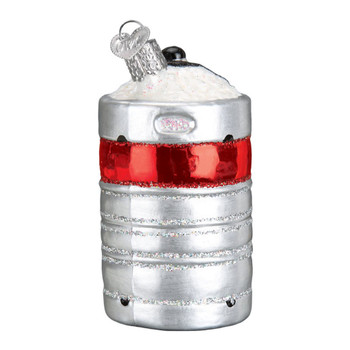 Aluminum Beer Keg by Old World Christmas 18045