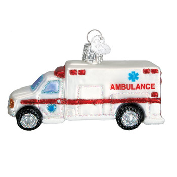Ambulance by Old World Christmas 46022