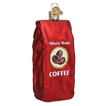 Bag of Coffee Beans by Old World Christmas 32387