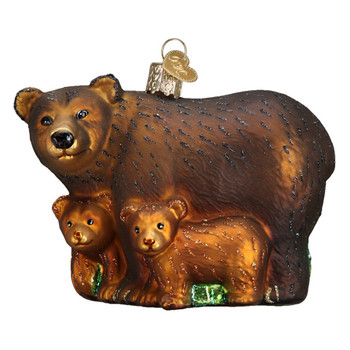 Bear w/Cubs by Old World Christmas 12199