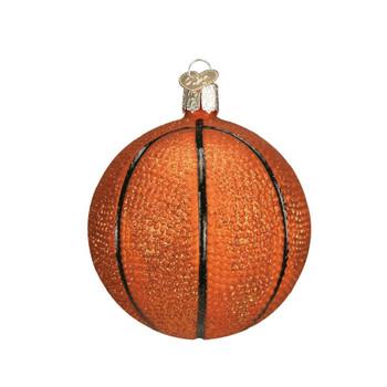 Glass Basketball by Old World Christmas 44010