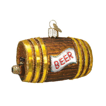 Beer Keg by Old World Christmas 32064
