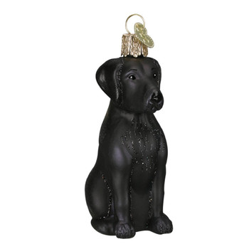 Black Labrador by Old World Christmas 12385