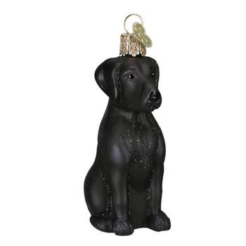 Black Labrador by Old World Christmas 12385