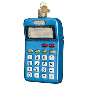 Calculator by Old World Christmas 32325