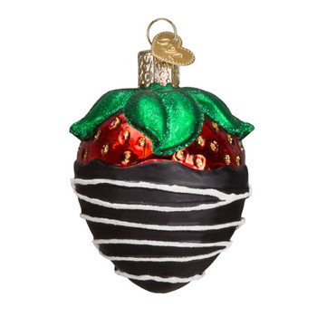 Chocolate Dipped Strawberry by Old World Christmas 28116