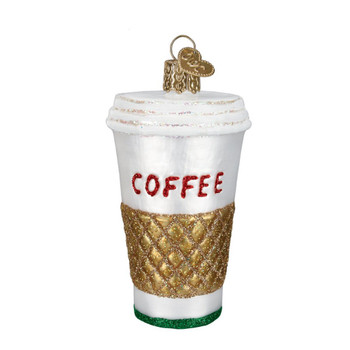 Coffee to Go by Old World Christmas 32171
