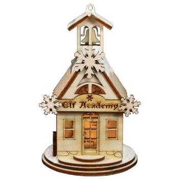 Elf Academy Schoolhouse by Old World Christmas 80019