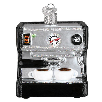 Espresso Machine by Old World Christmas 32319