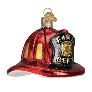 Fireman's Helmet by Old World Christmas 32225