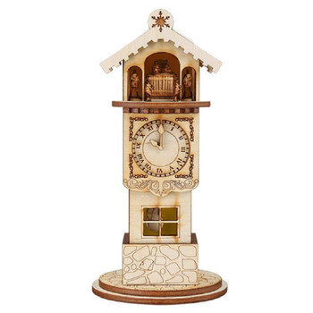 Ginger Clock Tower by Old World Christmas 80009