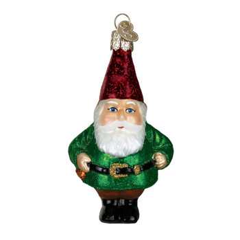 Glass Gnome by Old World Christmas 24133