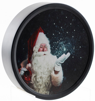 ROUND WISHING SANTA BY OAKSTREET OSW188154