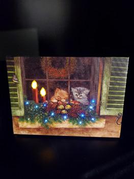 KITTENS IN THE WINDOW BY OAKSTREET OSW197501