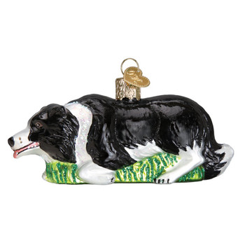 Herding Border Collie by Old World Christmas 12510