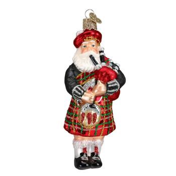 Highland Santa by Old World Christmas 40139