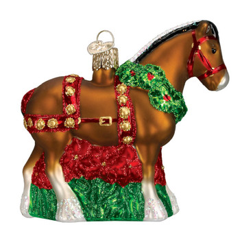 Holiday Clydesdale by Old World Christmas 12255