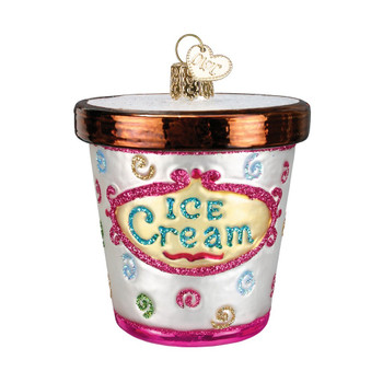 Ice Cream Carton by Old World Christmas 32177