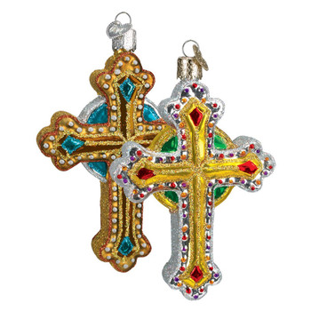 Jeweled Cross by Old World Christmas 36068