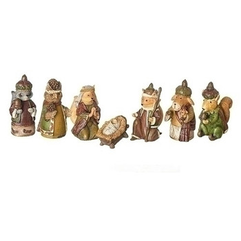 7PC FOREST NATIVITY