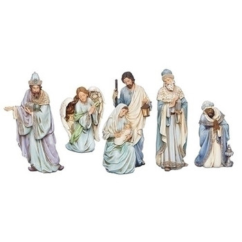 BLUE ROBE NATIVITY - 633245