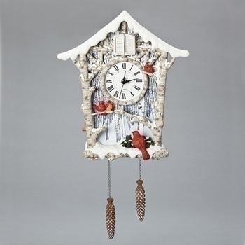 CARDINAL CUCKOO CLOCK - 133436