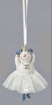ARMS UP DANCING SNOWMAN - 133163
