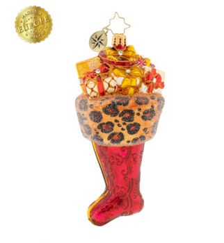 Wild treasures are surely hiding inside this stunning sock that's guaranteed to cause a roar.
