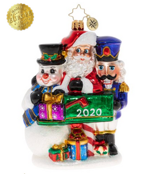 Santa's so grateful to have such wonderful friends who are always willing to jump in and lend a helping hand. Once these last few gifts are mailed out, this trio can set out on the celebratory vacation they've got planned!