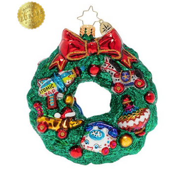 A Treasure-Filled Wreath.