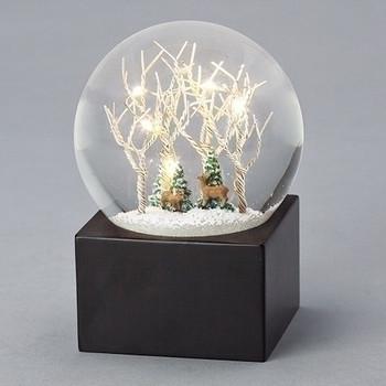 TREE&DEER GLITTER DOME