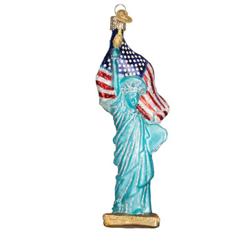 Old World Christmas Statue of Liberty front