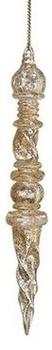 MULTI-SHAPED GOLD ICICLE - 132132