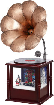 snowing phonograph - 30 inches