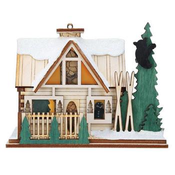 santas ski lodge, ginger cottages