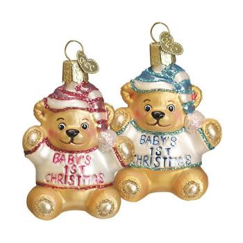 BABY'S FIRST TEDDY BEAR - 12065