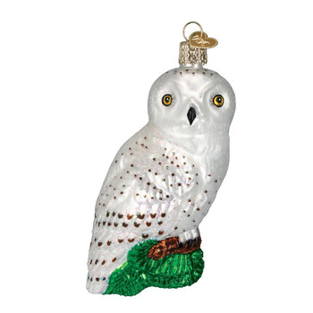 GREAT WHITE OWL - 16079