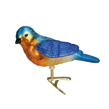 CLIP-ON WESTERN BLUEBIRD - 18043