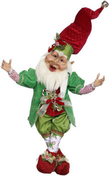 CANDY CANE ELF - LARGE, 32 INCHES